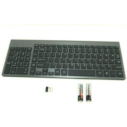 Wireless Keyboard, J JOYACCESS 2.4G Slim and Compact Keyboar