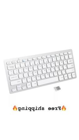JETech 2.4G Wireless Keyboard for Windows 8 7 Vista XP