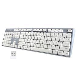 UHURU Wireless Keyboard, 2.4GHz Keyboard for Smart TV, Noteo