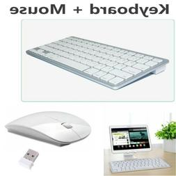 Wireless Keyboard & 2.4G Wireless Mouse Combo Set For Mac Pc