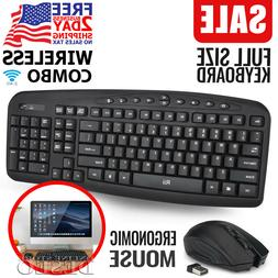 wireless keyboard and cordless mouse combo