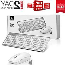 wireless keyboard and mouse bundle combo set