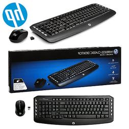 Wireless Keyboard And Mouse Classic Combo Optical Mouse Wire