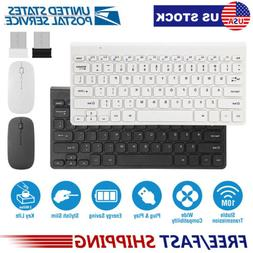 Mini Wireless Keyboard and Mouse Combo Set 2.4G for Computer