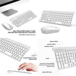 Wireless Keyboard And Mouse Combo,J Joyaccess 2.4G Slim Wire