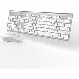 Wireless Keyboard And Mouse Combo-J JOYACCESS Portable Ergon