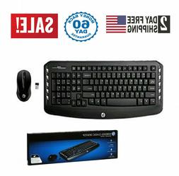 Wireless Keyboard And Mouse Combo Optical Mouse Hp Wireless