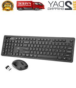 Wireless Keyboard And Mouse Combo Optical Mouse  Wireless Cl