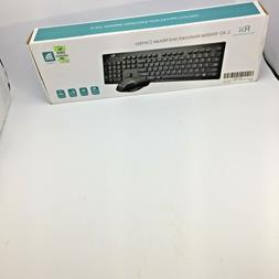 Rii Wireless keyboard and mouse combo RK 200 Standard Keyboa