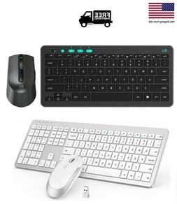 Wireless Keyboard and Mouse Combo Set 2.4G For Mac Apple Pc