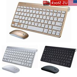 2.4GHz Wireless Keyboard And Mouse Combo Set 2.4G For PC Win
