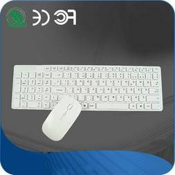 Wireless Keyboard and Mouse Set Computer USB Set Electronic