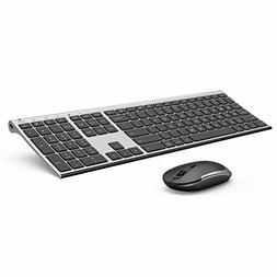 Wireless Keyboard and Mouse Vive Comb 2 4GHz Rechargeable Co