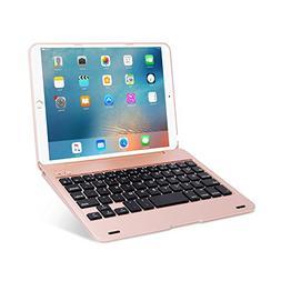 ONHI Wireless Keyboard for iPad Mini Keyboard Case, Folio Fl