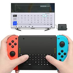 Wireless Keyboard for Nintendo Switch,Wireless Gamepad Chatp
