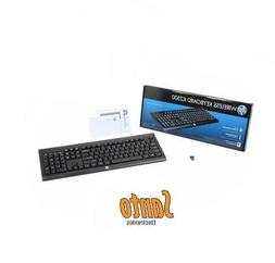 HP Wireless Keyboard K2500 USB Wireless 32 ft 2.40 GHz E5E77