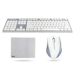 Wireless Keyboard and Mouse, UHURU 2.4GHz Compact Wireless K