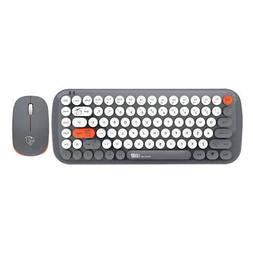 Wireless Keyboard Mouse Combo 2.4G Computer PC External 1200