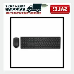 Wireless Keyboard Mouse Combo Desktop Laptop Computer Access