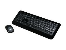 Wireless Keyboard Mouse Microsoft Desktop 800 RF 2LF-00001 U