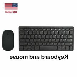 Wireless Keyboard Mouse Kit Combo Set Laptop Accessories For