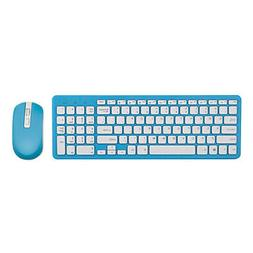 Wireless Keyboard Mouse Kit Laptop Accessories For Office Bl