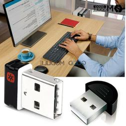 2.4GHz Wireless Keyboard Mouse Unifying Receiver 1 to 6 Devi