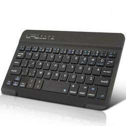 WIRELESS KEYBOARD SLIM COMPACT PORTABLE KEYPAD RECHARGEABLE