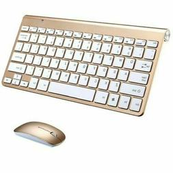 Wireless Keyboard Ultra Slim & Mouse for Apple Mac Laptop PC