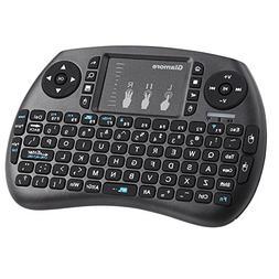 Wireless Keyboard, Glamore 2.4GHz Mini Keyboard Wireless wit