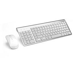 JOYACCESS Wireless Keyboards Combo Full-size Whisper-quiet W