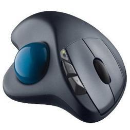 Logitech Wireless M570 Trackball Sculpted Shape to Provide B