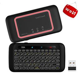 Wireless Mini Keyboard With Touchpad, Backlit Keyboard and M