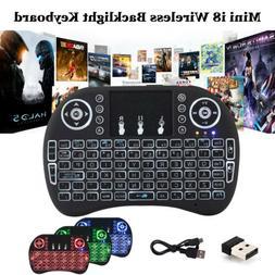 Wireless Mini Keyboard Remote Control Touchpad Smart TV Andr