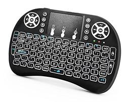 RocketBus Wireless Mini Keyboard Remote Control with Touchpa