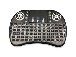 Wireless Mini Keyboard Rii i28W Remote Control Audio Touchpa