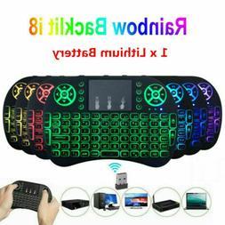 Wireless Mini Keyboard Rii i8 Air Mouse Keypad Remote Contro