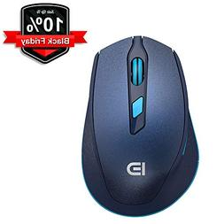 Wireless Mouse, FD i365 Ergonomic Optical Cordless Mouse wit