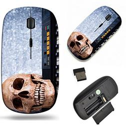Luxlady Wireless Mouse Travel 2.4G Wireless Mice with USB Re