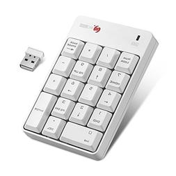 Vahulawa 18 Keys Wireless Numeric Keypad Wireless USB Number