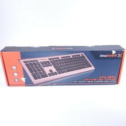 BLACKWEB Wireless Silent Keyboard | Low Profile Quiet-Touch
