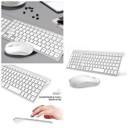 Wireless Slim Keyboard And Mouse Combo 2.4G Compact Computer