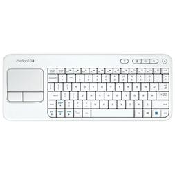 Logitech Wireless Touch Keyboard K400 White - with Built-In