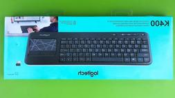 Logitech Wireless Touch Keyboard K400 With Built-In Touchpad