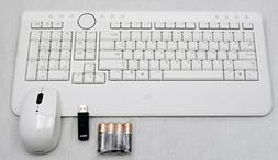 Dell Wireless US Keyboard and Mouse with USB Receiver White