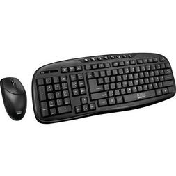 Adesso WKB-1330CB - Wireless Keyboard and Mouse Combo, Deskt