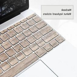 Wooden 11/13 inch notebook wireless keyboard covers Walnut k