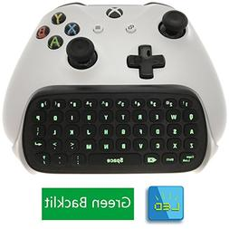 Whiteoak Xbox One S Chatpad Mini Backlit Gaming Keyboard Wir