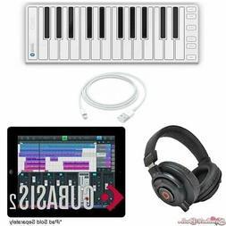 CME Xkey Air 25 Wireless MIDI Keyboard iOS Recording Bundle